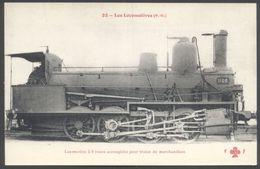 Fleury - Les Locomotives P.O. - Locomotive à 8 Roues Accouplées Pour Trains Marchandises - N° 22 - See 2 Scans - Materiaal
