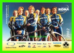 SPORTS CYCLISME - ÉQUIPE CYCLISTE RONA - - Cyclisme