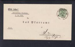 Dt. Reich Falthülle Kassel 1883 - Deutschland