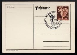 DR Postkarte Sonderstempel 1941 Wien Ungelaufen K1333 - Poststempel - Freistempel