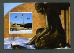 Canadá. AB - Alberta. *The Main Entrance Of Grande Prairie Regional College...* Escrita. - Alberta