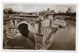 ROMA - PONTE ROTTO   VIAGGIATA FP - Roma (Rom)