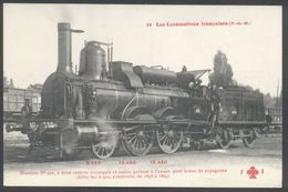 Fleury - Les Locomotives PLM - Machine 922 Type 120 - N° 54 - See 2 Scans - Materiaal