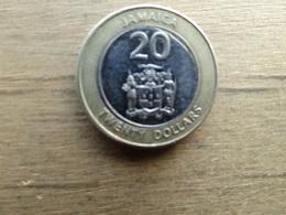 Jamaique  20  Dollars  2008  Km !!! - Jamaica
