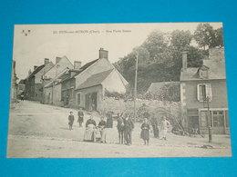 18 ) Dun-sur-auron N° 33 - Rue Porte Basse -  Année 1914 : EDIT : E.M.B - Dun-sur-Auron
