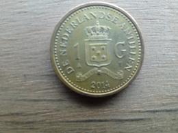 Antilles  Neerlandaises  1  Gulden  2014   Km !!! - Antilles Neérlandaises