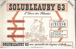 Buvard Solubleauby. L'Ami Des Plantes. Engrais Noble. (Agriculture). - Agriculture