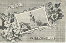 De TERVUEREN Je Vous Envoie Ces Fleurs - Cachet De La Poste 1940 - Tervuren