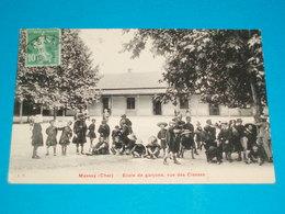 18 ) Massay - école De Garçons ; Vue Des Classes -  Année  : EDIT : Breger - Massay