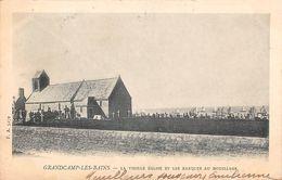 GRANDCAMP LES BAINS - La Vieille Eglise Et Les Barques Au Mouillage - Andere Gemeenten