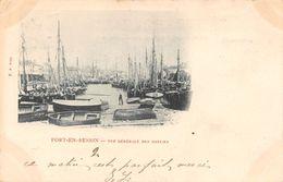 PORT EN BESSIN - Vue Générale Des Bassins - Port-en-Bessin-Huppain