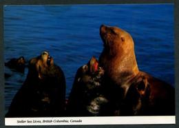 Canadá.. BC - *Steller Or Northern Sea Lions* Circulada 1990. - Sin Clasificación