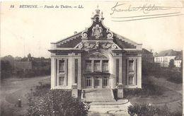 BETHUNE  LA FACADE DU THEATRE - Bethune