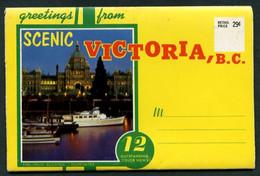 Canadá. BC - Victoria. Estuche 12 Imágenes. Nueva. - Victoria