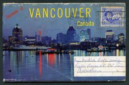 Canadá. BC - Vancouver. *Souvenir Of Vancouver* Estuche 12 Imágenes. Circulada 1966. - Vancouver