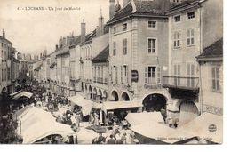 CPA 71 - LOUHANS - UN JOUR DE MARCHE - Louhans
