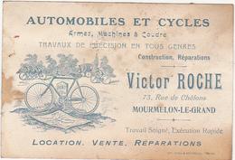 AUTOMOBILES ET CYCLES - Armes, Machines à Coudre - VICTOR ROCHE - MOURMELON LE GRAND / Avant 1914... - Alcohols