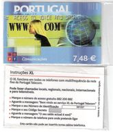 Portugal - Phonecard/ Telécarte Telecom Card / PT -  XL ,  Nuevo/UNC - Portogallo