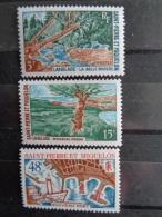 SAINT PIERRE ET MIQUELON 1967 & 1969 Y&T N° 378 ** , 385 ** & 386 ** - PAYSAGES - St.Pierre & Miquelon