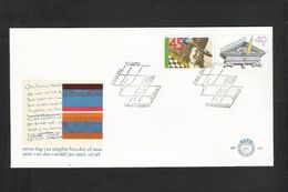 NEDERLAND - FDC - NVPH  N° 178  -  Joost Van Den Vondel / Jan Steen  (405) - FDC