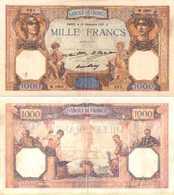 FRANCE - 1000 Fr (Cérès Et Mercure) 10/12/1931 - F 37/6 (P 79b) TTB (VF) - 1871-1952 Circulated During XXth