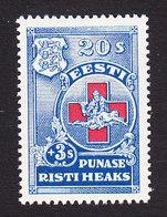 Estonia, Scott #B23, Mint Hinged, Red Cross, Issued 1931 - Estland
