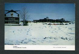 Canadá. NL - Gander. *Winter Scene At Airport* Nueva. - Newfoundland And Labrador