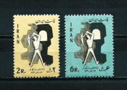 Irán  Nº Yvert  1023/4  En Nuevo - Iran