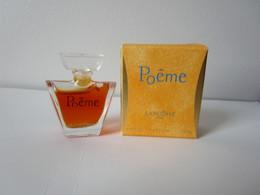 LANCOME - POEME - P - 4 ML  - Miniature - Miniatures Femmes (avec Boite)