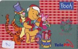 Télécarte  NEUVE DISNEY * INDONESIA (30) MINT Phonecard INDONESIE * WINNIE THE POOH * 0015-0063-06307 * TELEFONKARTE - Disney