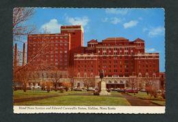 Canadá. NS - Halifax. *Hotel Nova Scotia And Edward Cornwallis Statue* Nueva. - Halifax