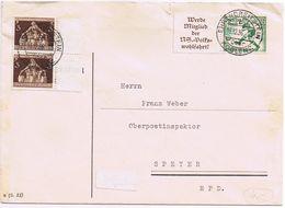 Busta Come Da Scansione Coblenz->Speyer  Viaggiata 1936 - Deutschland