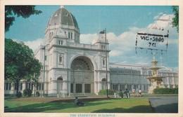 CARTOLINA - POSTCARD - AUSTRALIA - MELBOURNE - VITORIA - THE EXHIBITION BUILDINGS - Melbourne