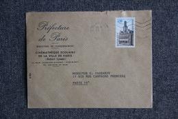 Lettre De FRANCE ( Cinémathèque De PÄRIS) - N° 1510 - Marcophilie (Lettres)