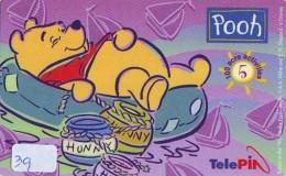 Télécarte  NEUVE DISNEY * INDONESIA (39) MINT Phonecard INDONESIE * WINNIE THE POOH * 0015-0422-06061 * TELEFONKARTE - Disney