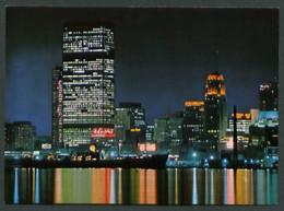 Canadá. ON - Toronto. *Toronto's Skyline At Night Looking In From Totonto Island* Nueva. - Toronto