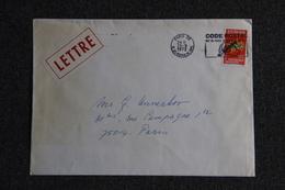 Lettre De FRANCE (PARIS ) - N° 1714 - Marcophilie (Lettres)
