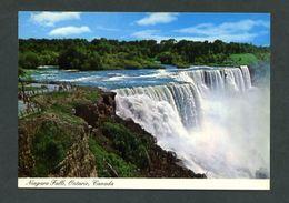 Canadá. ON - Niagara Falls. *Close-Up View Of The American Falls* Nueva. - Cataratas Del Niágara
