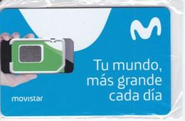 GSMT-253 TARJETA GSM-SIM DE MOVISTAR  CONTRATO    (NUEVA-MINT) - Espagne