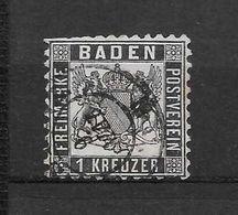 LOTE 1603  ///   ALEMANIA  - BADEN  YVERT N: 9    COTE: 35€ - Baden