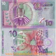 Centrale Bank  Van  Suriname  10 Tien Gulden 2000 Fds - Surinam