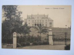 Wavre Château D'Aoûst Circulée 1923 - Waver