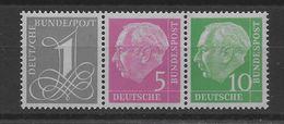 Combinación  De Alemania Nº Michel W-18y Nuevo. - [7] Federal Republic