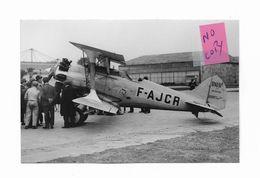 "AVION - BLERIOT SPAD 61-9 - N° 1 "" F.AJCR "" - 1919-1938"
