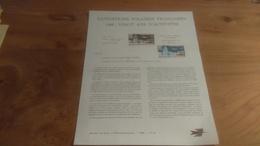 145/ 1968 N° 26 EXPEDITIONS POLAIRES FRANCAISES 1968 VINGT ANS D ACTIVITES - Documents Of Postal Services