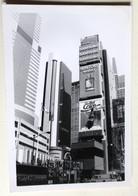 Photo Originale New York City Time Square Publicité Coca Cola Suntory Whisky - Time Square