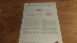 145/ 1969 N° 11 CHATEAU DE HAUTEFORT - Documentos Del Correo