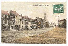 BUCHY - 17 - Place Du Marché - (Edition Léger ? Légelle ?) - Buchy