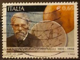 ITALIA 2010 The 100th Anniversary Of The Death Of Giovanni Virginio Schiaparelli, 1835-1910. USADO - USED. - 6. 1946-.. Repubblica