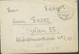 Feldpostbrief  Ohne Inhaltsschreiben - Deutschland